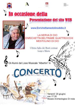 Concerto 29/06/2018