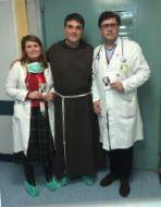 La serva di Dio Enrichetta Beltrame Quattrocchi entra negli ospedali a visitare gli ammalati
